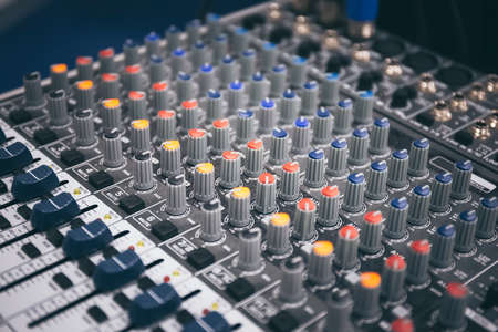Sound equalizer and mixer for sound recording