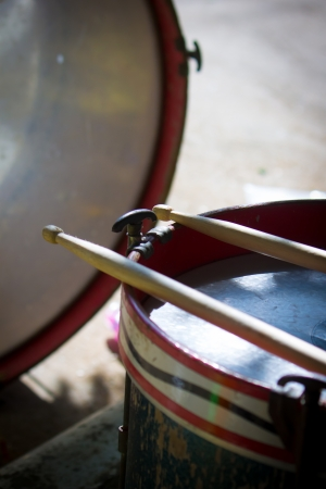 Wooden Drum Stock Photo - 23078185
