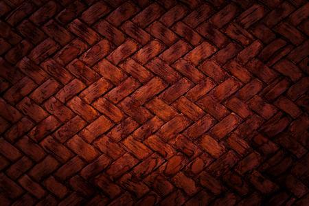 cruz roja: Cesta roja patr�n de tejido de textura de fondo de cerca