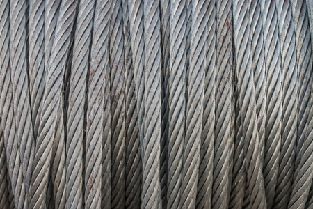 industrail: Closeup and texture of the metal sling