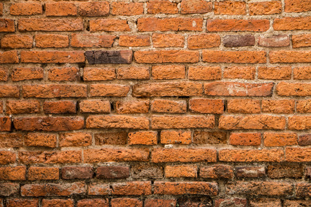 constraction: Closeup and texture of the weathered brick background