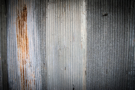 galvanized: Weathered old galvanized sheet  texture closeup  background