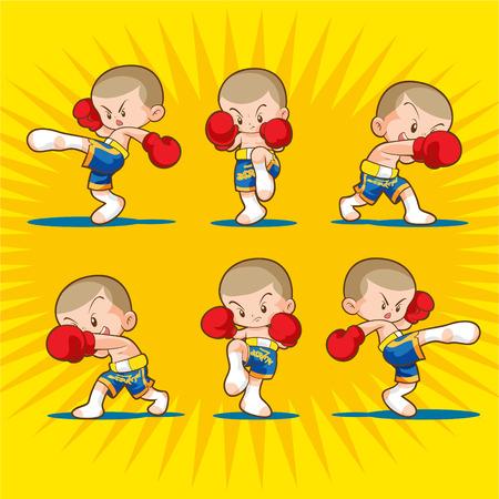 boxing: muaythai boxing kids