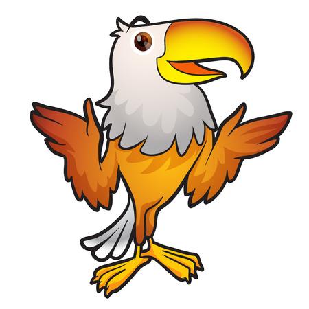 rapacious: Eagle Mascot,Cartoon eagle posing,Eagle Mascot talkting,Smart Eagle Mascot presenting