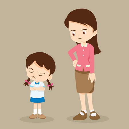 교사 걱정과 성 난 여자. 성 난 아이들.