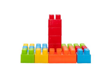 Juguetes Para Niños De Color, Bloques De Construcción De Plástico ...