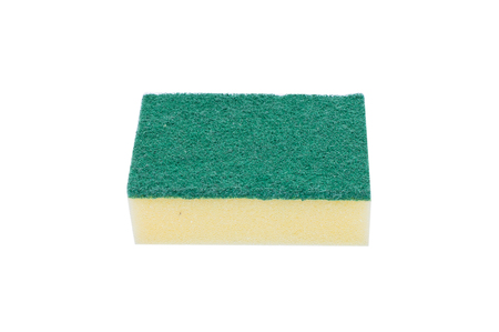 scouring: Scouring pads on white background