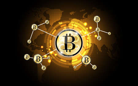 Bitcoin digital money network technology background