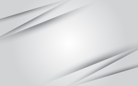 Grey white abstract background modern design copyspace for your text Vectores