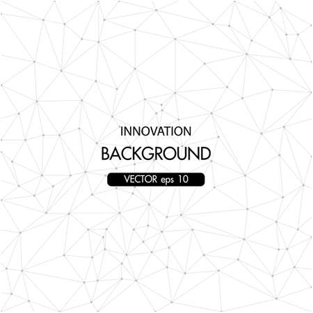 Abstract background triangular grid concept. Vector illustration