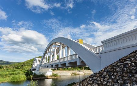 world war 2: White bridge building in world war 2 for Japans soldier