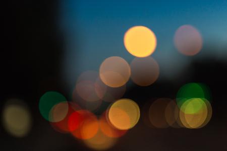 celebrate: Bokeh traffic light