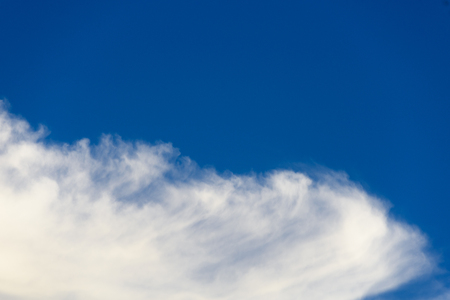 clouds wildness and clear blue sky