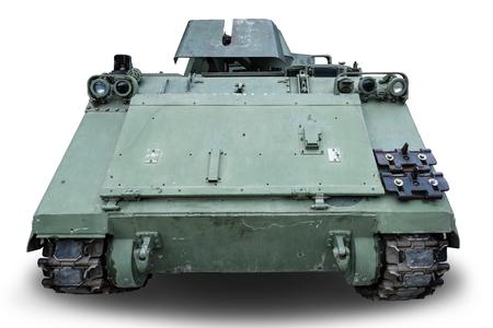 tank military on white background Zdjęcie Seryjne