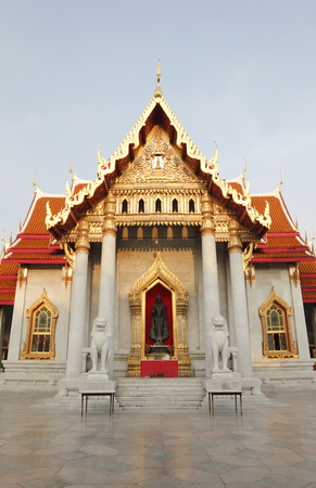 famous place: Marble Temple The famous Place of Bangkok