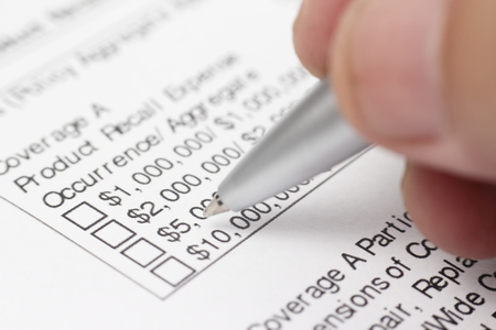 Salary Income Checkbox Form Stock Photo