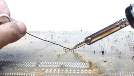 Welding Circuit Board Electronic photo