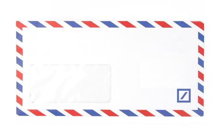 Blank White envelope