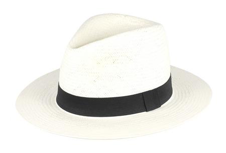 Panama Hat on White background