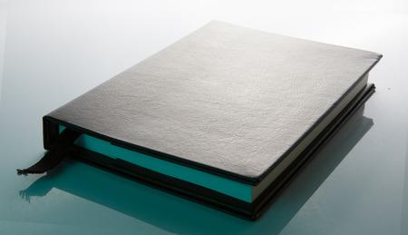 handbooks: Cool Black Leather Book