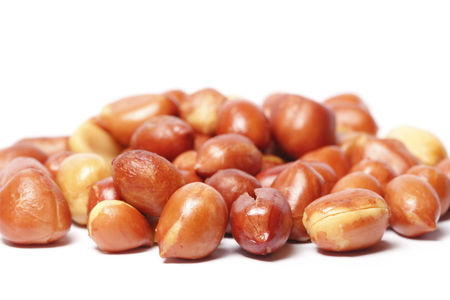 salty: Salty peanuts Stock Photo