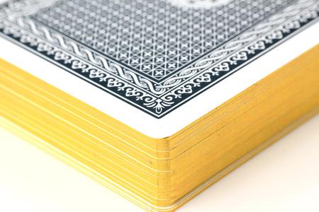 cards deck: Cards Deck Closeup