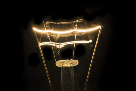 filament: Filament Light bulb Closeup shot