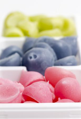 allure: Colorful Allure Sweet Closeup Stock Photo