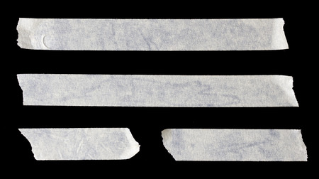 sellotape: Paper Tape in Black background Stock Photo