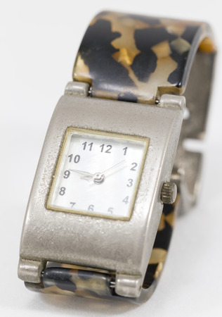square shape: Old Hand Watch Square shape Stock Photo