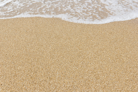 Beach and Sand Background Stock Photo