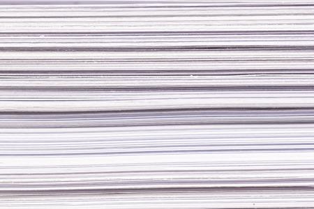 White Paper Stack Closeup Texture