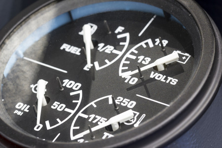 gauges: Gauges of Machine Closeup