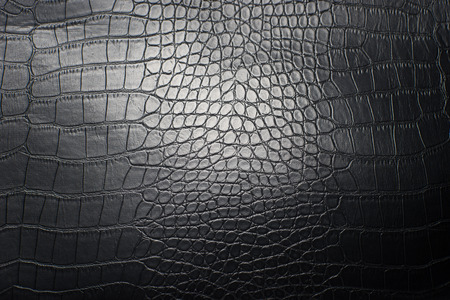black leather texture: Black Leather Texture Closeup Stock Photo