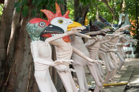 hua: Wat Muang Hua Taphan, Wiset Chai Chan District, Ang Thong Thailand Tourist attraction