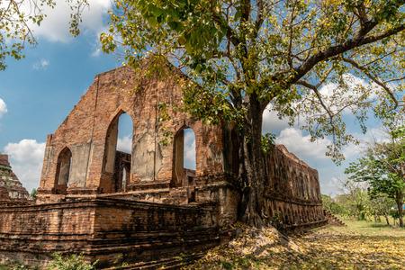 Tumnak Kummalean of Wat Kudee Dao, Ancient Buddhist Temple, Phra Nakhon Si Ayutthaya District, Phra Nakhon Si Ayutthaya