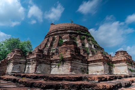 Wat Kudee Dao, Ancient Buddhist Temple, Phra Nakhon Si Ayutthaya District, Phra Nakhon Si Ayutthaya