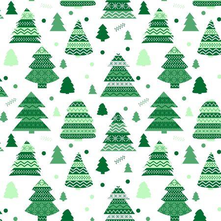 Süßes Weihnachtsmuster mit Weihnachtsmotiven