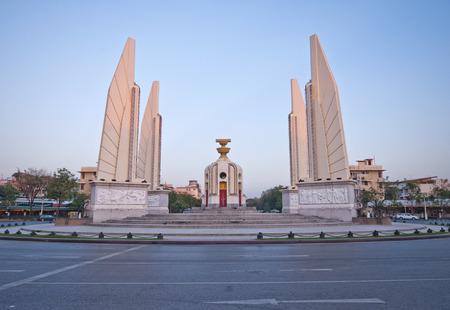 Democracy Monument In Bangkok, Thailand photo