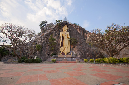 ratchaburi: Buddha in cave at Khao Ngoo Rock Park Ratchaburi Thailand