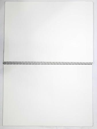 White Note Book photo