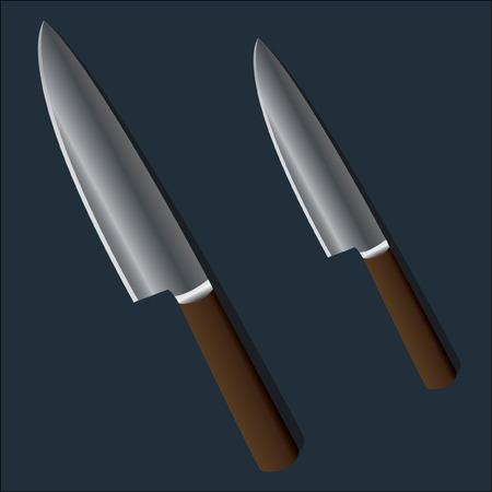 knive: Kitchen Knives Illustration