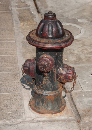 old fire hydrant: Fire hydrant Stock Photo
