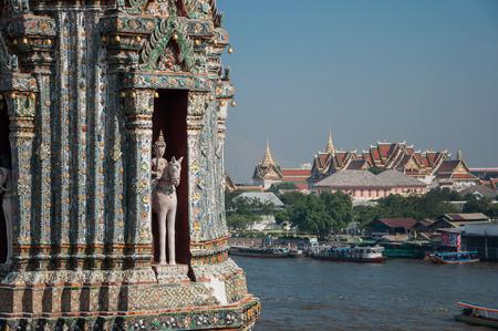 wat arun: Temple Wat Arun Bangkok Stock Photo