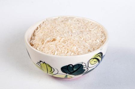 polished: polished rice