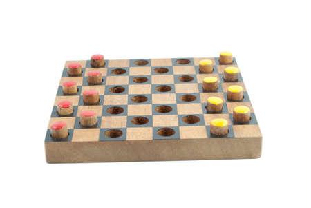 checker boční pohled