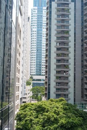 apartment buildings Stock Photo