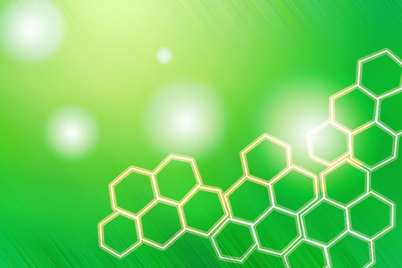 abstract light background honey comb photo