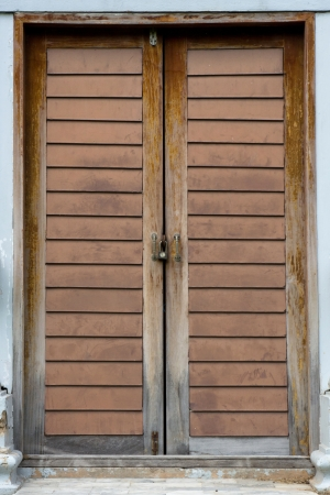 wood door Stock Photo - 14237330