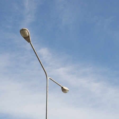 street lamp pole Stock Photo - 14503825